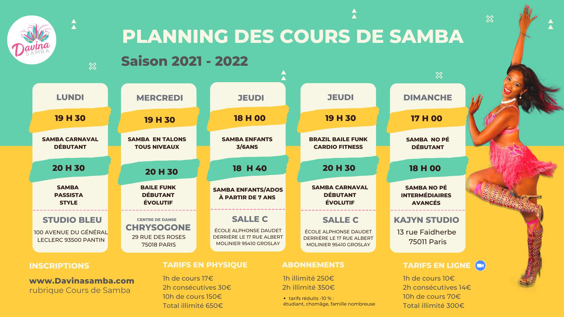 Planning Davina Samba